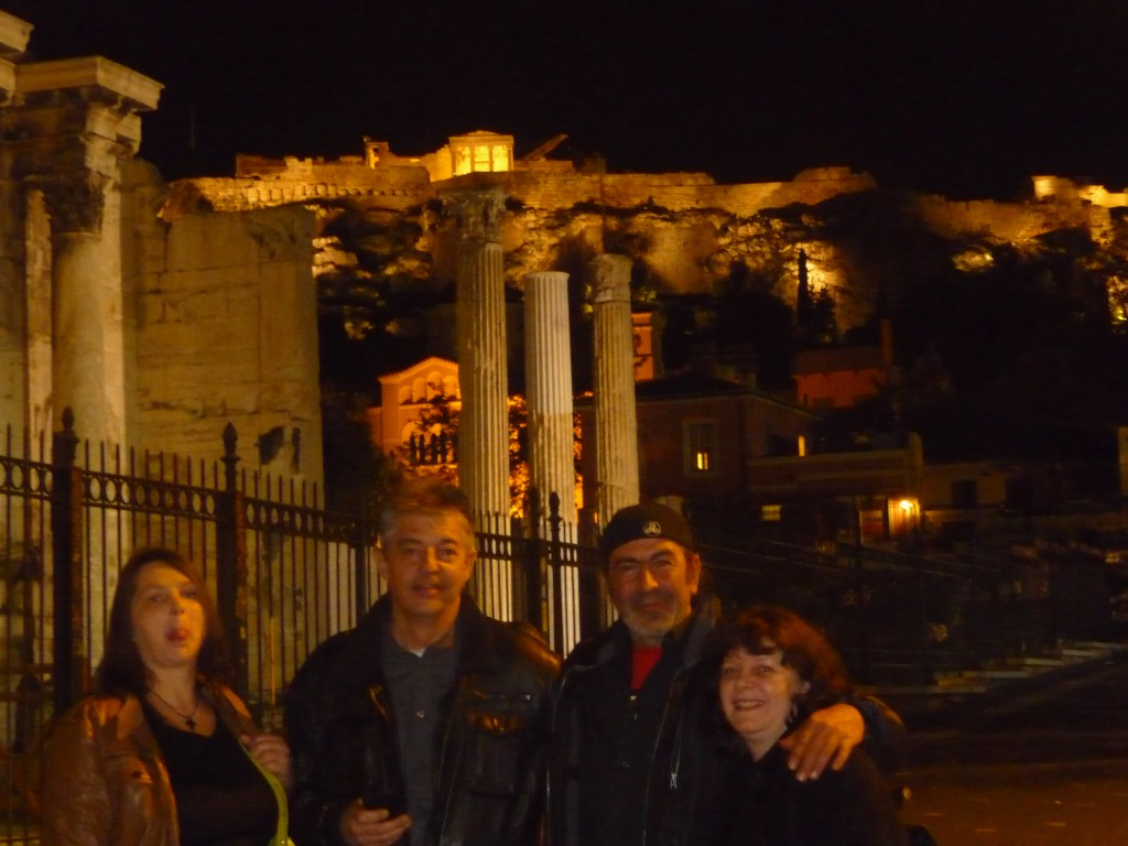 Abend in Athen